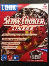 40 Slow Cooker Liners - Pack of 4  x 10 Packs - Free Delivery