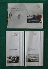 1999 99 Audi A6 Owners Manual  G12A
