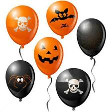 Cheap 50pcs Halloween Party Balloon Decoration Pumpkin Skull Mixed Room ghost