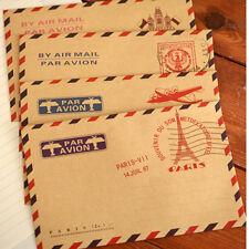 10psc Rétro Mini Papier Enveloppes Papeterie Lettre Postale Vintage