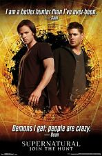 SUPERNATURAL QUOTES from SAM and DEAN POSTER New Rolled Poster 24x36