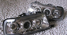 Chrome finish Angel Eyes Headlights front lights for AUDI 80 B4 RS2 S2