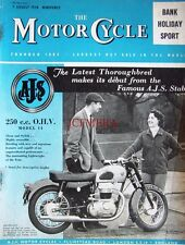 7 Aug 1958 A.J.S. 'Model 14' 250cc OHV Motor Cycle ADVERT - Magazine Cover Print