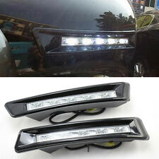 2x Aluminum LED Daytime Running Fog Light DRL For Toyota Prado 2700 FJ150 09-13