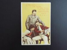 Vintage The Waterbury Watch Co., trading card