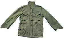 M65 Jacke Army Feldjacke Parka BW oliv grün Field Jacket mit Futter M-65 US Gr.L