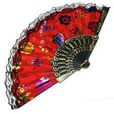 Handfächer Fecher Deko Fächer Wand Dekoration Taschenfächer Tanzen Abkühlung