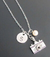 Camera Necklace Handstamped Photographer's Pride necklace,Camera Jewelry