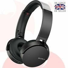 GENUINE Sony MDR-XB650BT-B Bluetooth Extra Bass Headphone - BLACK *UK* XB650BT