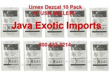 URNEX DEZCAL ESPRESSO COFFEE MAKER SCALE REMOVER CLEANER 10 Pack #1 USA DEALER!