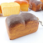 Jumbo Loaf Simulation Bagels Squishy Soft phone Charm Bread Scented Strap CC4