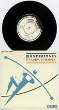 "UNDERTONES ~ IT'S GOING TO HAPPEN! / FAIRLY IN THE MONEY NOW ~ 1981 UK 7"" SINGLE"