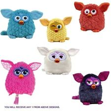 Furby 'Pink, White, Blue, Yellow, Orange, Purple' Assorted 6 Inch Plush Soft Toy