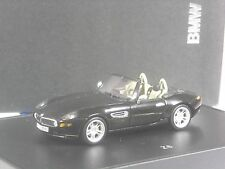 Rare: Minichamps 80420026607 BMW z8 Noir Metallic 1:43 en grand OVP