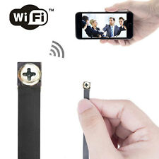 wireless Spy Nanny hidden WIFI IP P2P Pinhole DIY Digital Video Camera Mini DVR