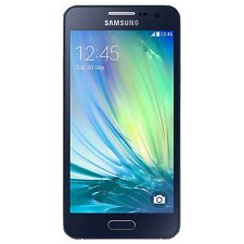 Samsung Galaxy A3 4G LTE Midnight Black Australian Stock A300Y Unlocked