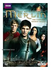 The Adventures of MERLIN .Season 4 Fourth  (.4 disc/Dvd) ,Free Shipping