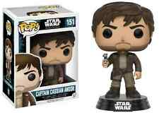 Star Wars Rogue One Cassian Andor with Jacket Exclusive #151 Funko Pop Vinyl