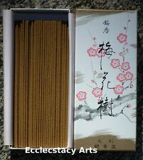 Shoyeido Baika ju - Plum Blossom Incense 150 Japanese Incense Sticks