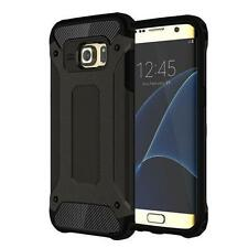 For Samsung Galaxy S7 Edge Armor Shockproof Defender Box Phone Case Cover Black