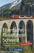 Fachbuch Eisenbahn-Reiseführer Schweiz, Urlaub mit der Eisenbahn, TOP Bilder NEU
