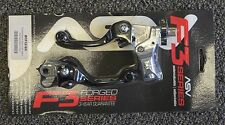 ASV F3 Brake & Clutch Lever Set Black Short Honda CR80/85 CR125 CR250 CR500