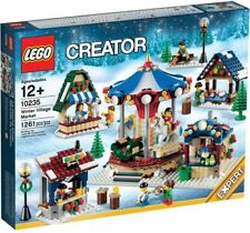 NEW LEGO CHRISTMAS WINTER VILLAGE MARKET Set 10235 New In Box - Retired