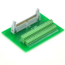 "IDC40 2x20 Pins 0.1"" Male Header Breakout Board, Terminal Block, Connector."