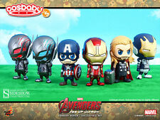 Avengers 2 Pack 6 Figurines Cosbaby - Hot Toys