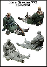 Evolution Mins German WSS Soldier Late War 35124 WW2 1:35 Unpainted kit