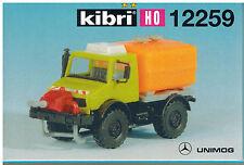 Kibri H0-Bausatz 12259 MB-Unimog mit Gülleverteiler (Mercedes-Benz - neu)