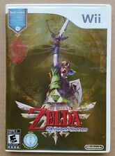 The Legend Of Zelda Skyward Sword Nintendo Wii With Soundtrack