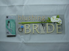 "A Touch Of Jolee's ""Blushing Bride"" Wedding - 16 pcs Dimensional Stickers"