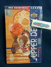 '93-94 Upper Deck NBA Backetball Cards Series One, 36 Ct., Foil Packs SEALED BOX