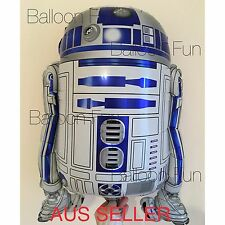 STAR WARS BALLOON 62cm R2D2 THE FORCE AWAKENS MOVIE  PARTY SUPPLIES ROBOT TOY