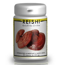 REISHI (Ganoderma Lucidum) 400mg - 90 CPS - ERBA SUPERIORE di 1a QUALITA'