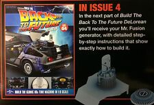 Build the Back to the Future Delorean Issue #4 1.8 scale diecast model 52.7 cm