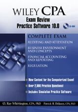 Wiley CPA Examination Review Practice Software 10.0 2004 by O. Ray Wh 0471668486