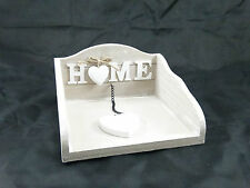 In legno shabby chic NAPKIN HOLDER REGALO DI NATALE HOME DECOR