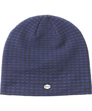 RVCA Dash  Mens Beanie (NEW w/ FREE SHIPPING) Navy Blue VA Winter Hat BEENIE CAP