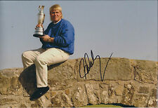 John DALY SIGNED Autograph 12x8 Photo AFTAL COA Open Winner St Andrews Scotland