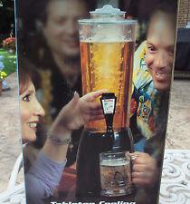 The BrewTender Tabletop Beer & Beverage Dispenser - Black - Pour Draft Beer Tap