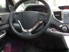 ABS Chrome Steering Wheel U Shape Moulding Trim Cover for Honda CRV 2012-2015
