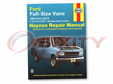 Ford E-150 Econoline Club Wagon Haynes Repair Manual XL Chateau Custom XLT my