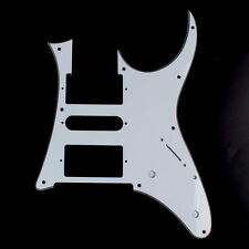 Custom Guitar Pick Guard for Ibanez RG 750, RG 550  ,3ply White
