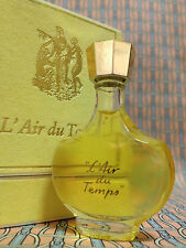 Vintage 1970-80s L Air du Temps Nina Ricci 1/4 oz 7.5 ml Pure Parfum OLD FORMULA
