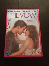 The Vow (DVD, 2012) rachel mcadams, channing tatum, region 2 uk dvd