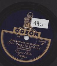 Dajos Bela Orchester 1929 spielt Carl Zeller : Der Vogelhändler - Operette