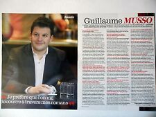 COUPURE DE PRESSE-CLIPPING : Guillaume MUSSO  [2pages] 03/2016