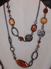 Beautiful Lia Sophia BONFIRE Necklace, NWOT